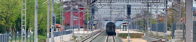 Development of railway infrastructure along the major national and Pan-European